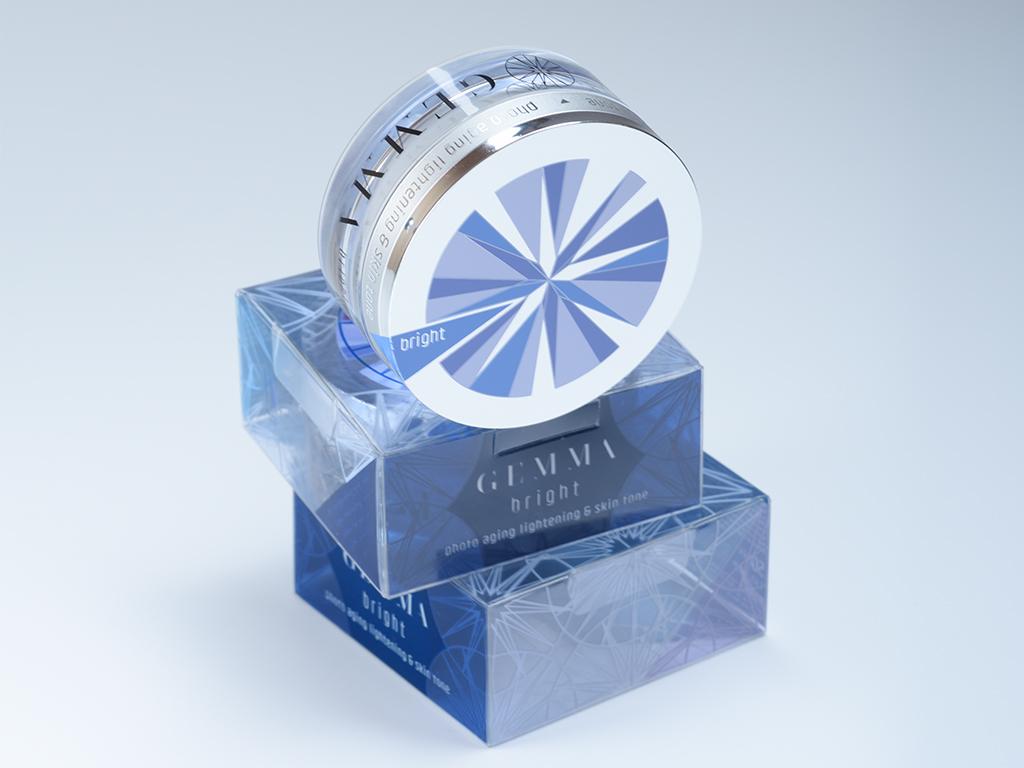 design csomagolás tégely ezüst prégelt és szitázott design
