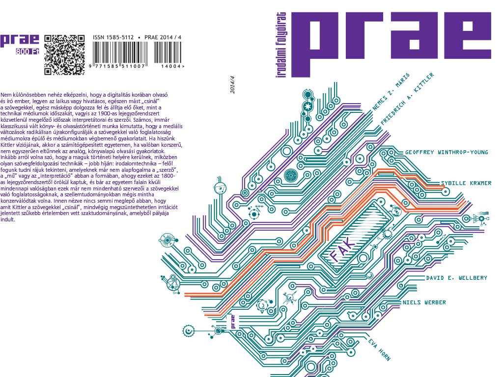 folyóirat borító design